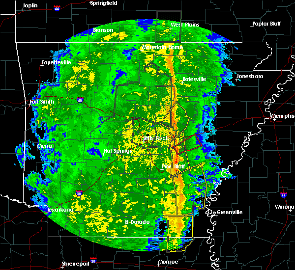 Radar Image for Severe Thunderstorms near Roe, AR at 11/17/2015 3:28 PM CST