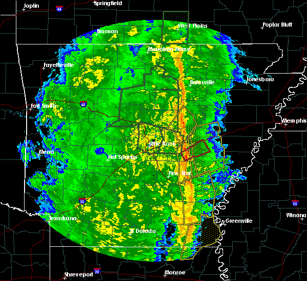 Radar Image for Severe Thunderstorms near Wheatley, AR at 11/17/2015 3:34 PM CST