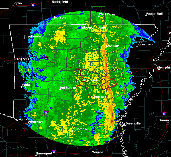 Radar Image for Severe Thunderstorms near Roe, AR at 11/17/2015 3:56 PM CST