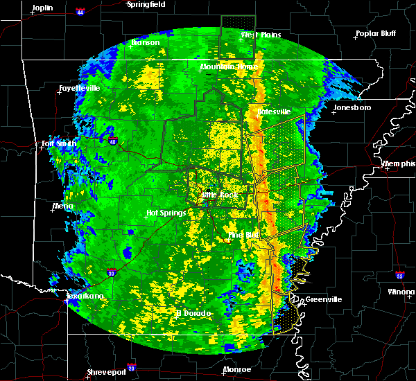 Radar Image for Severe Thunderstorms near McGehee, AR at 11/17/2015 4:02 PM CST