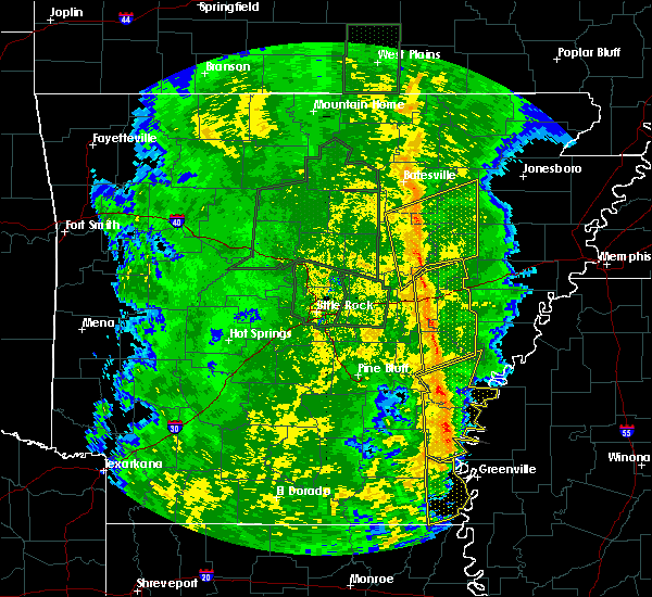 Radar Image for Severe Thunderstorms near Wheatley, AR at 11/17/2015 4:12 PM CST