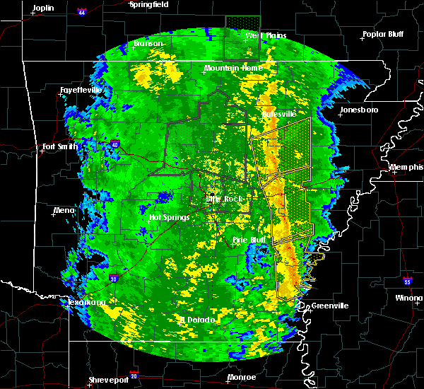 Radar Image for Severe Thunderstorms near Wheatley, AR at 11/17/2015 4:18 PM CST