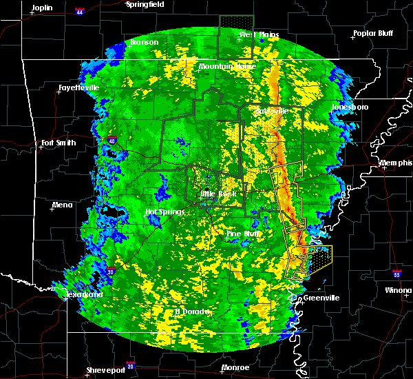 Radar Image for Severe Thunderstorms near Winstonville, MS at 11/17/2015 4:43 PM CST