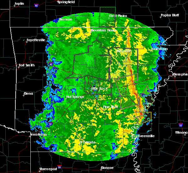 Radar Image for Severe Thunderstorms near Rondo, AR at 11/17/2015 4:57 PM CST