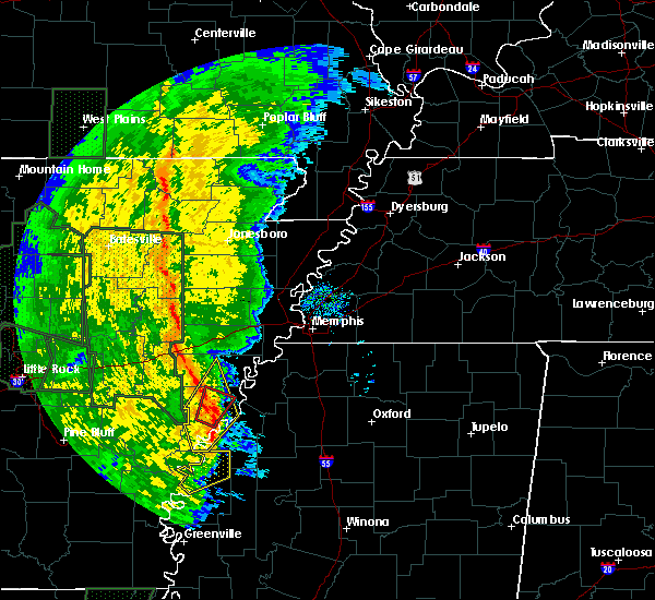 Radar Image for Severe Thunderstorms near Lexa, AR at 11/17/2015 5:13 PM CST