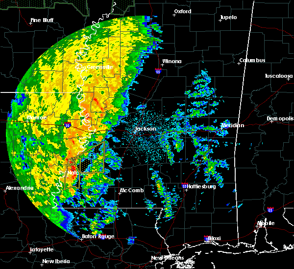 Radar Image for Severe Thunderstorms near Fayette, MS at 11/17/2015 8:13 PM CST