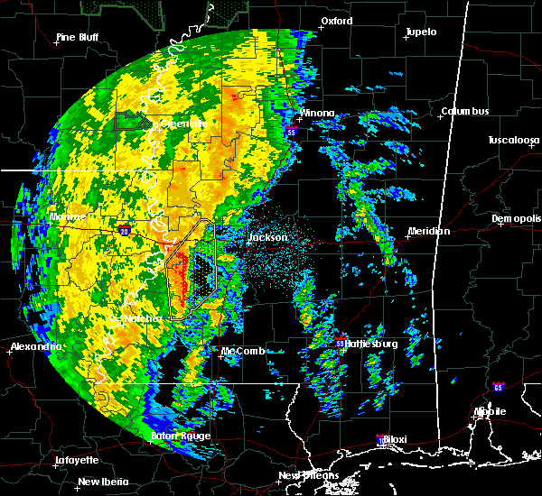 Radar Image for Severe Thunderstorms near Beechwood, MS at 11/17/2015 9:19 PM CST