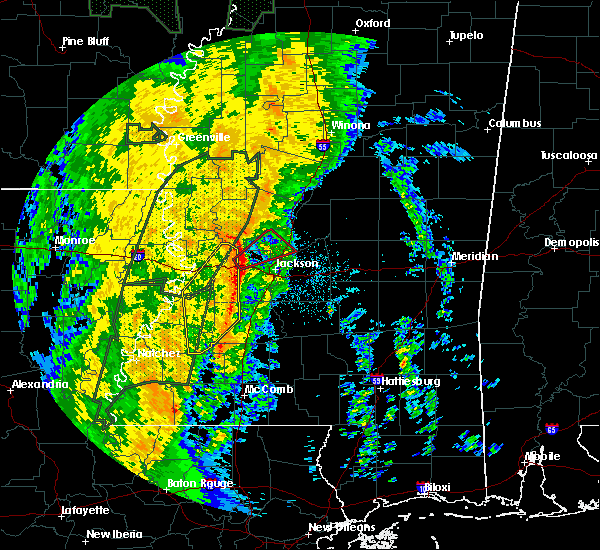 Radar Image for Severe Thunderstorms near Flora, MS at 11/17/2015 9:49 PM CST