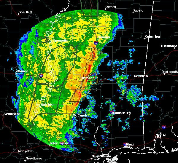 Radar Image for Severe Thunderstorms near Flowood, MS at 11/17/2015 11:07 PM CST