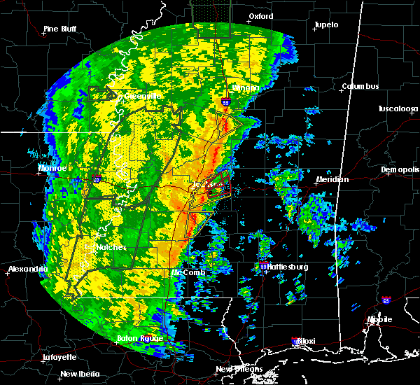 Radar Image for Severe Thunderstorms near Brandon, MS at 11/17/2015 11:12 PM CST