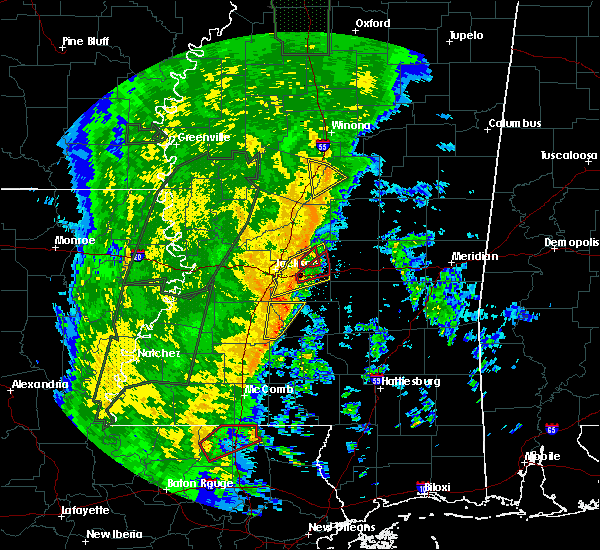 Radar Image for Severe Thunderstorms near Flowood, MS at 11/17/2015 11:15 PM CST