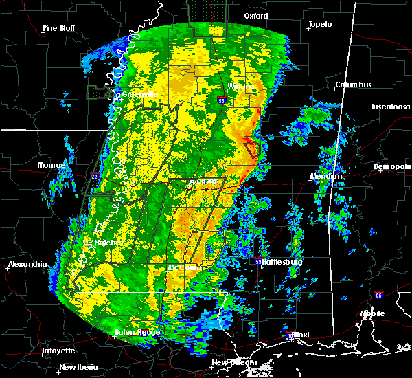 Radar Image for Severe Thunderstorms near Prentiss, MS at 11/18/2015 12:27 AM CST