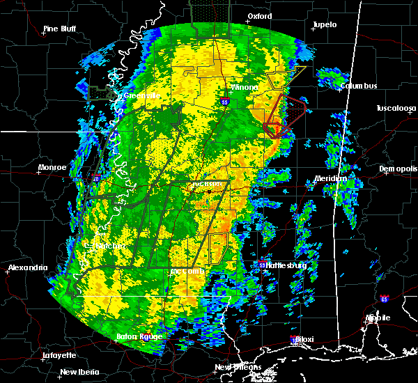 Radar Image for Severe Thunderstorms near Noxapater, MS at 11/18/2015 12:48 AM CST