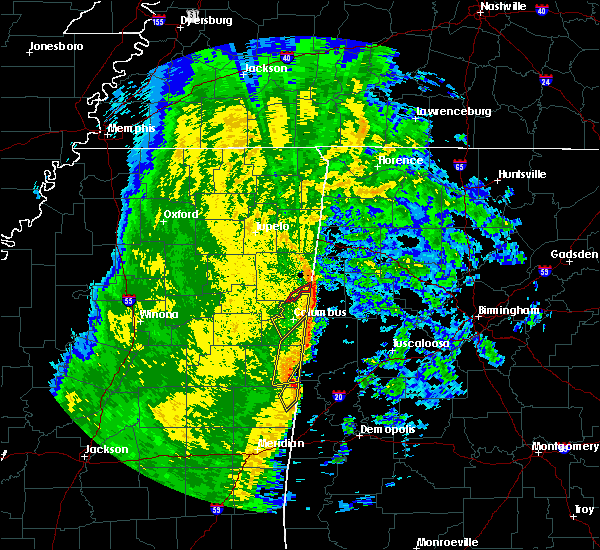 Radar Image for Severe Thunderstorms near Ethelsville, AL at 11/18/2015 4:31 AM CST