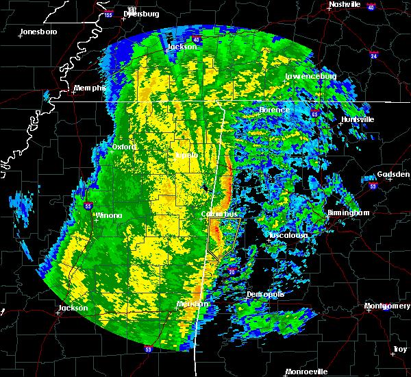 Radar Image for Severe Thunderstorms near Ethelsville, AL at 11/18/2015 5:01 AM CST