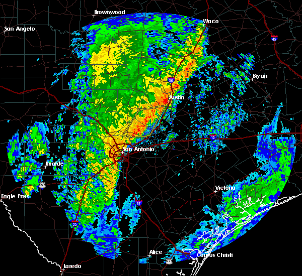 Radar Image for Severe Thunderstorms near Wimberley, TX at 12/13/2015 2:18 AM CST