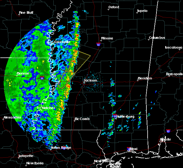 Radar Image for Severe Thunderstorms near Satartia, MS at 12/13/2015 5:51 PM CST