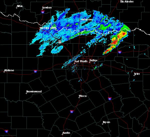 Radar Image for Severe Thunderstorms near Pecan Gap, TX at 12/23/2015 4:52 AM CST
