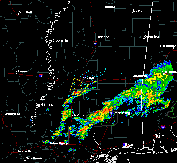 Radar Image for Severe Thunderstorms near Richland, MS at 12/24/2015 4:01 PM CST