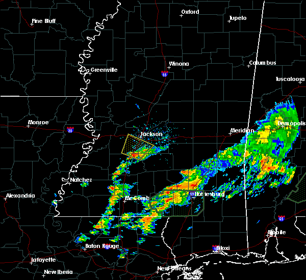 Radar Image for Severe Thunderstorms near Richland, MS at 12/24/2015 4:09 PM CST