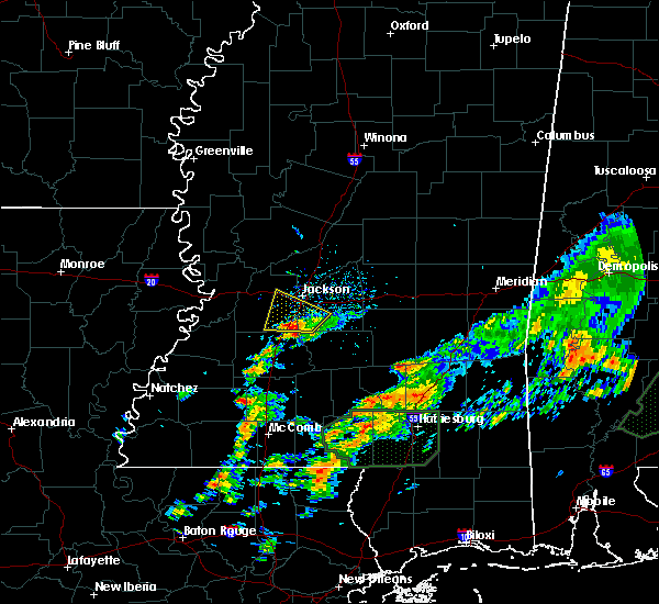 Radar Image for Severe Thunderstorms near Richland, MS at 12/24/2015 4:15 PM CST