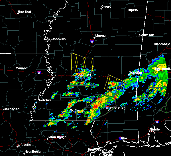 Radar Image for Severe Thunderstorms near Montrose, MS at 12/24/2015 4:55 PM CST