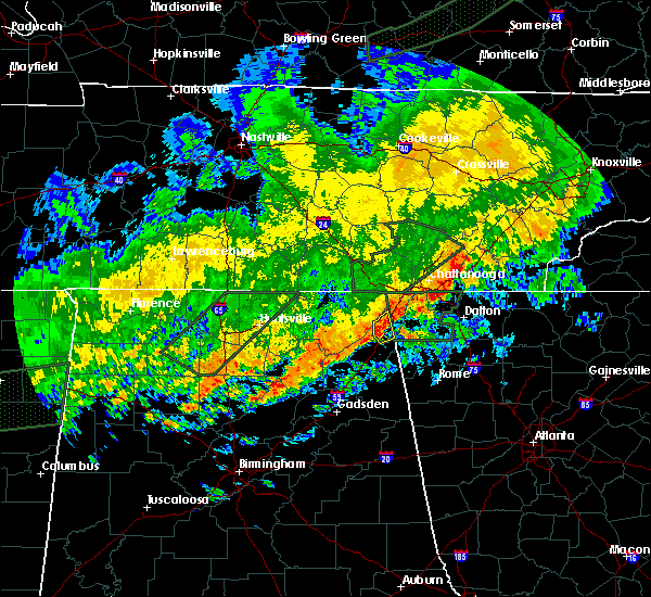 Radar Image for Severe Thunderstorms near Valley Head, AL at 12/25/2015 10:30 AM CST