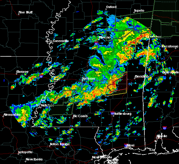 Radar Image for Severe Thunderstorms near Montrose, MS at 12/25/2015 4:03 PM CST
