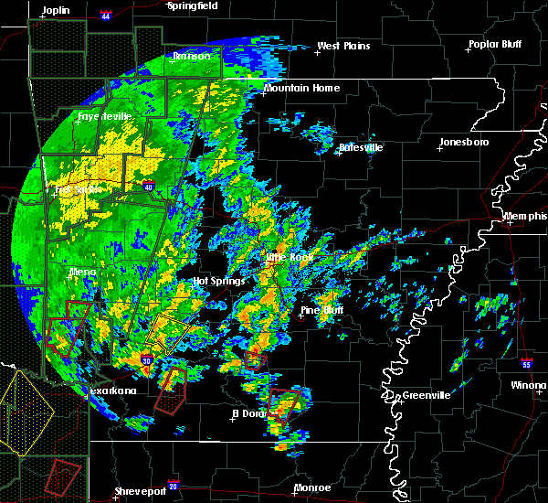 Radar Image for Severe Thunderstorms near Staves, AR at 12/27/2015 4:50 PM CST