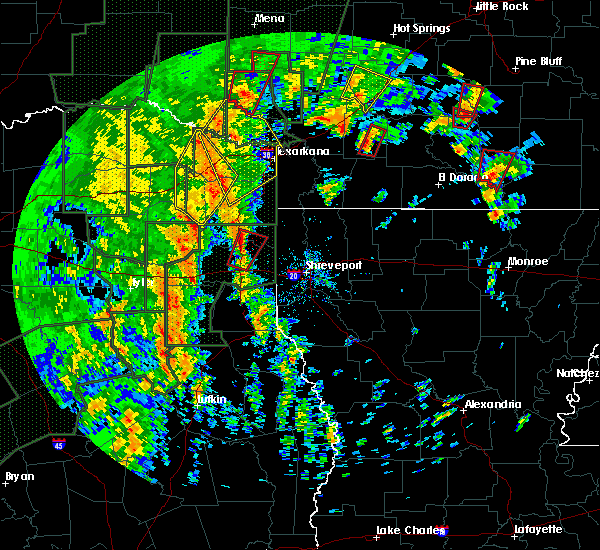Radar Image for Severe Thunderstorms near Winthrop, AR at 12/27/2015 4:50 PM CST