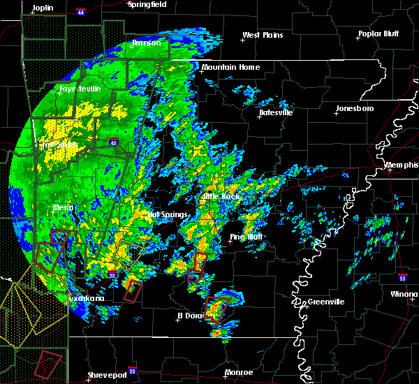 Radar Image for Severe Thunderstorms near Staves, AR at 12/27/2015 4:59 PM CST