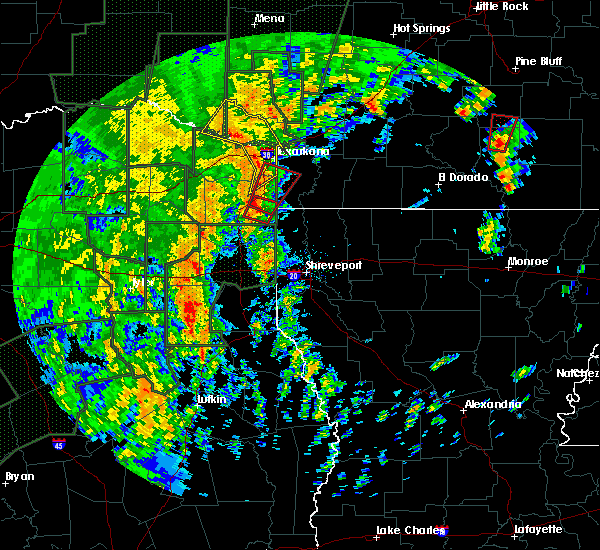 Radar Image for Severe Thunderstorms near Winthrop, AR at 12/27/2015 5:26 PM CST