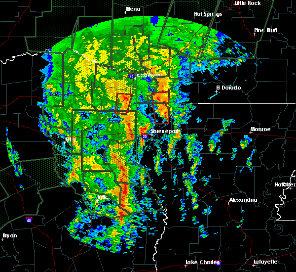 Radar Image for Severe Thunderstorms near Bradley, AR at 12/27/2015 8:01 PM CST