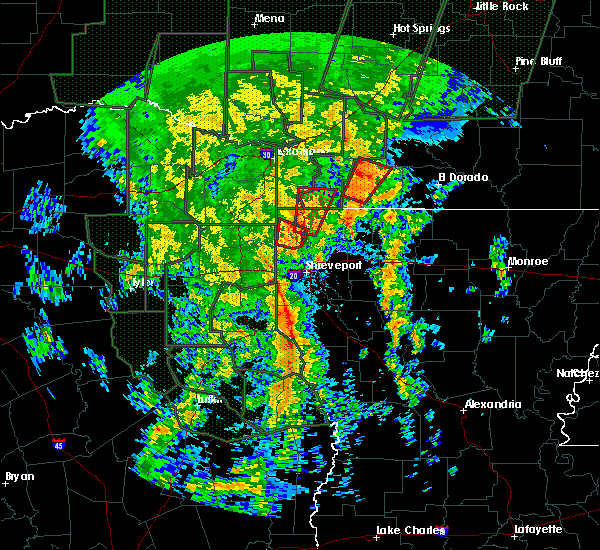 Radar Image for Severe Thunderstorms near Bradley, AR at 12/27/2015 8:52 PM CST