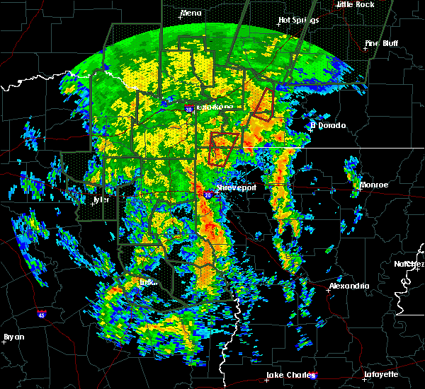 Radar Image for Severe Thunderstorms near Bradley, AR at 12/27/2015 9:05 PM CST