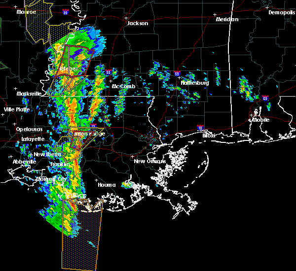 Radar Image for Severe Thunderstorms near Central, LA at 12/28/2015 2:31 AM CST