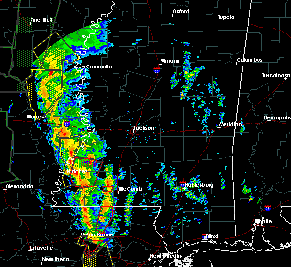 Radar Image for Severe Thunderstorms near Newellton, LA at 12/28/2015 2:41 AM CST