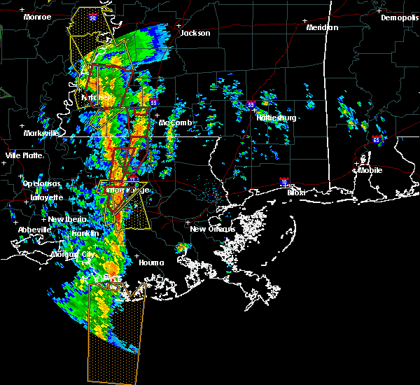 Radar Image for Severe Thunderstorms near Central, LA at 12/28/2015 2:44 AM CST