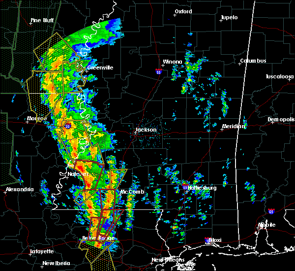 Radar Image for Severe Thunderstorms near Roxie, MS at 12/28/2015 2:54 AM CST
