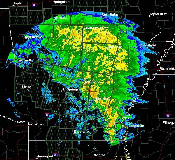 Radar Image for Severe Thunderstorms near McGehee, AR at 12/28/2015 3:05 AM CST