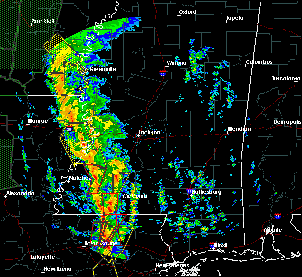 Radar Image for Severe Thunderstorms near Fayette, MS at 12/28/2015 3:07 AM CST