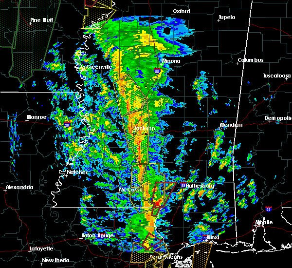 Radar Image for Severe Thunderstorms near Ruleville, MS at 12/28/2015 4:54 AM CST