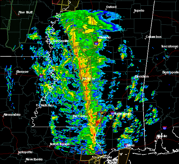 Radar Image for Severe Thunderstorms near Brandon, MS at 12/28/2015 5:04 AM CST