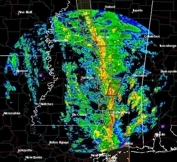 Radar Image for Severe Thunderstorms near Bay Springs, MS at 12/28/2015 6:20 AM CST