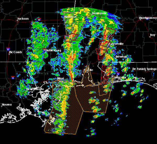 Radar Image for Severe Thunderstorms near Spanish Fort, AL at 12/28/2015 8:16 AM CST