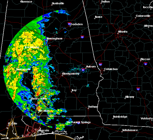 Radar Image for Severe Thunderstorms near Pine Apple, AL at 12/28/2015 9:20 AM CST