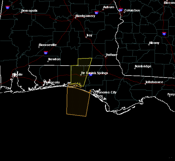 Radar Image for Severe Thunderstorms near Ponce de Leon, FL at 12/28/2015 2:37 PM CST