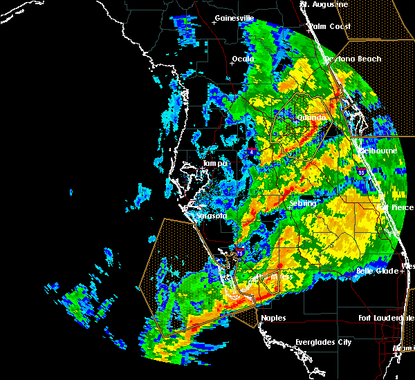 Radar Image for Severe Thunderstorms near Gateway, FL at 1/15/2016 11:31 AM EST