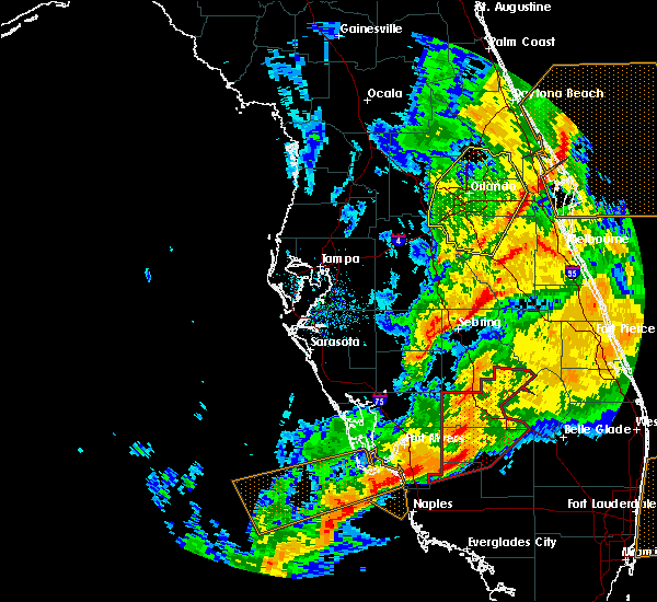 Radar Image for Severe Thunderstorms near Gateway, FL at 1/15/2016 11:50 AM EST