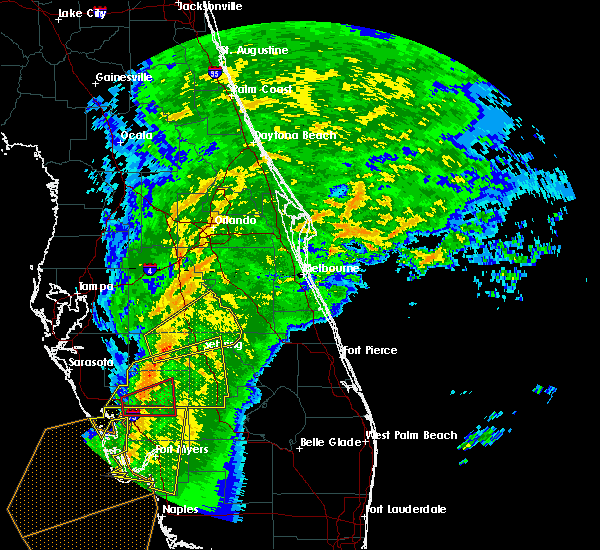 Radar Image for Severe Thunderstorms near Avon Park, FL at 1/17/2016 4:53 AM EST